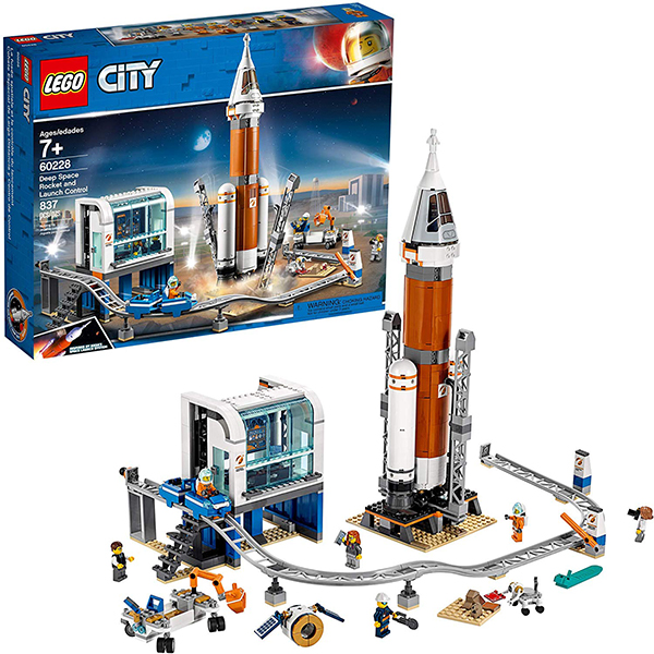 LEGO City Space Deep Space Rocket and Launch Control