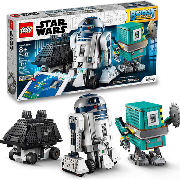 LEGO Star Wars Boost Droid Commander Learn to Code Educational Tech Toy for Kids