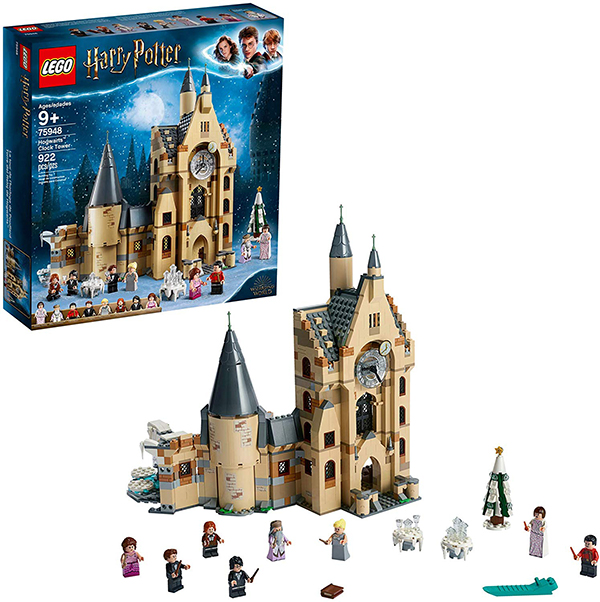 LEGO Harry Potter and the Goblet of Fire Hogwarts Clock Tower