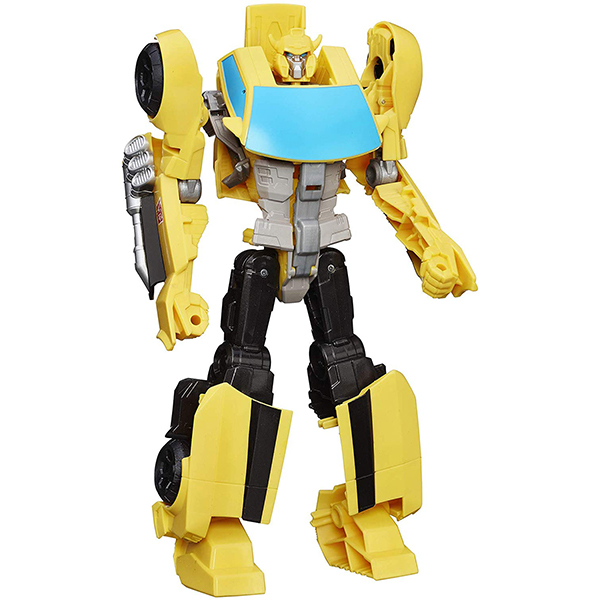 Transformers Toys Heroic Bumblebee Action Figure, 11