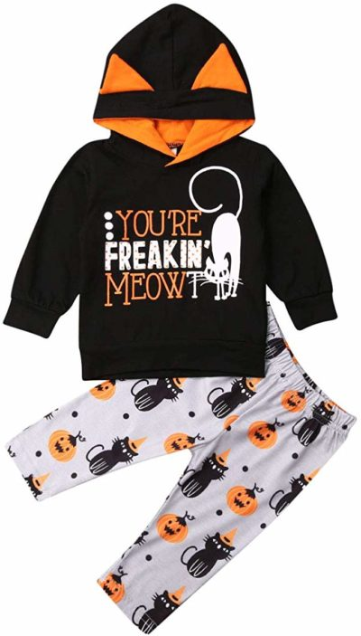 niceclould Newborn 1st Halloween Outfit