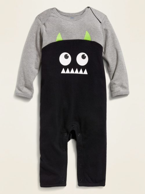 Old Navy Halloween Monster-Graphic One-Piece for Baby
