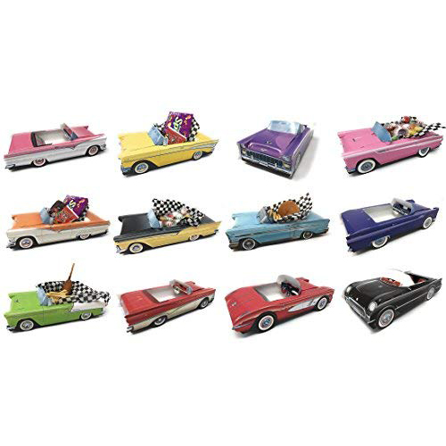 Classic Car Sets 12 Classic Car Party Food Boxes