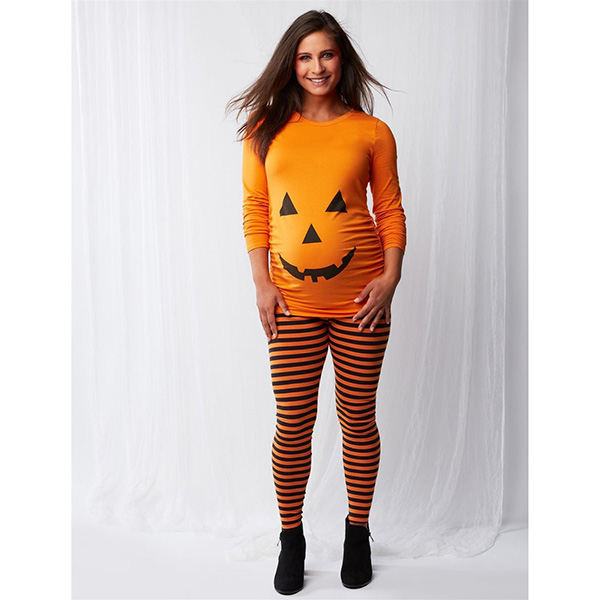 Motherhood Pumpkin Maternity Halloween Costume