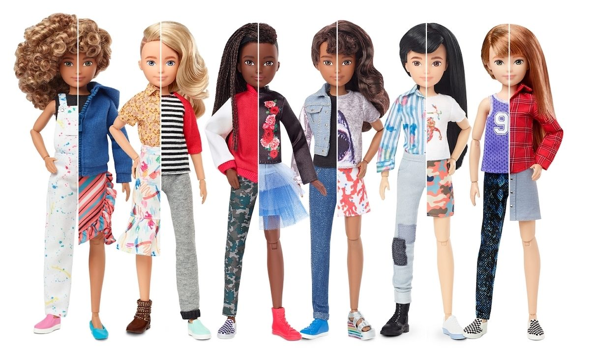 Mattel Launches a New Collection of Gender-Neutral Dolls Designed for All Kids