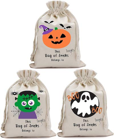 Partay Shenanigans Three-Pack Trick or Treat Totes