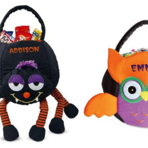 Best Personalized Trick or Treat Bags and Baskets for Kids