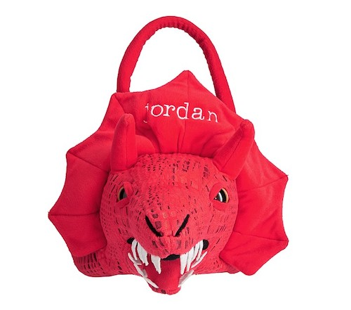 Pottery Barn Kids Red Dragon Treat Bag