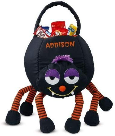 Lillian Vernon Personalized Spider Halloween Treat Bag