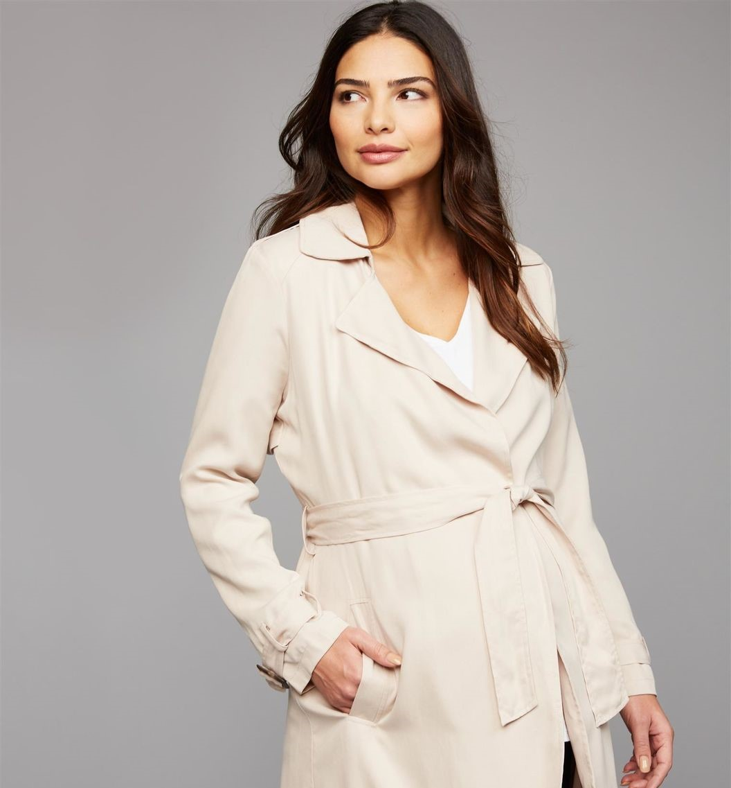 Open Front Maternity Jacket