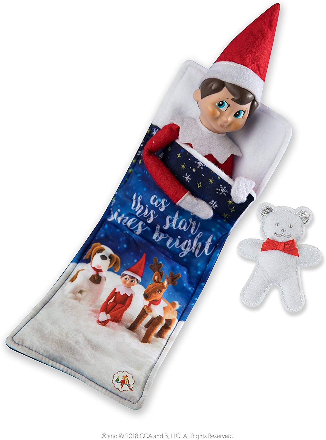 Elf on the Shelf Claus Couture Collection Slumber Set