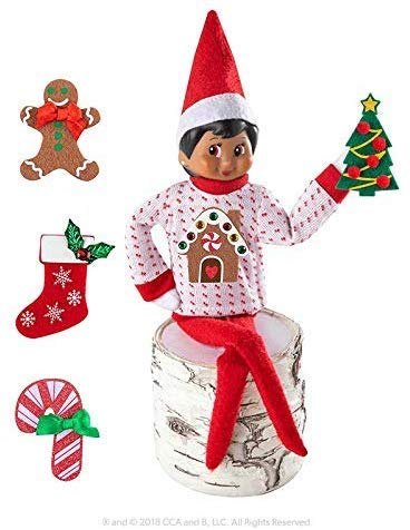 The Elf on the Shelf Boy Sweater Set