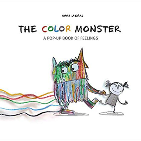 'The Color Monster: A Pop-Up Book of Feelings'