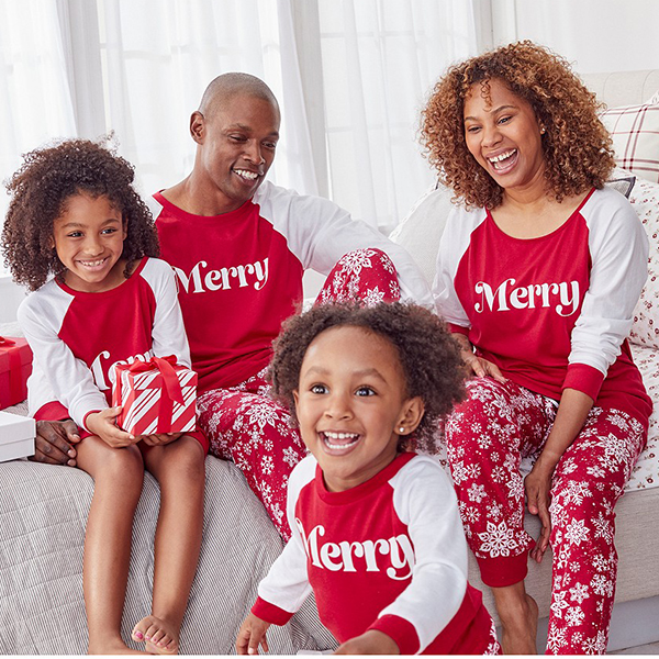 Matching Merry Family Pajamas Created for Macy's