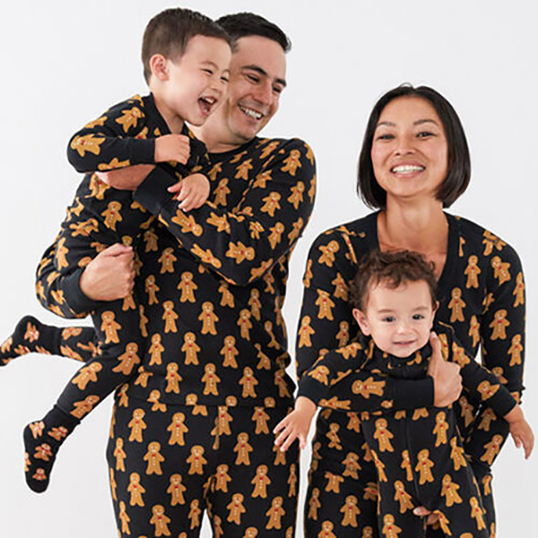 Hanna Andersson Gingerbread Matching Family Pajamas