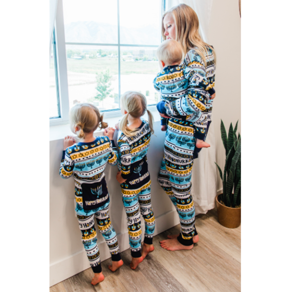 Lazy One Hannukah Matching Family Onesies