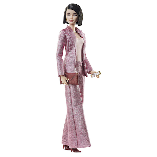 Barbie Signature Styled by Chriselle LIM Collector Doll in Pink Pant Suit with Accessories