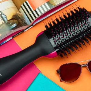 This Blowdryer Brush Has Saved Us Countless Time & Money Is Currently