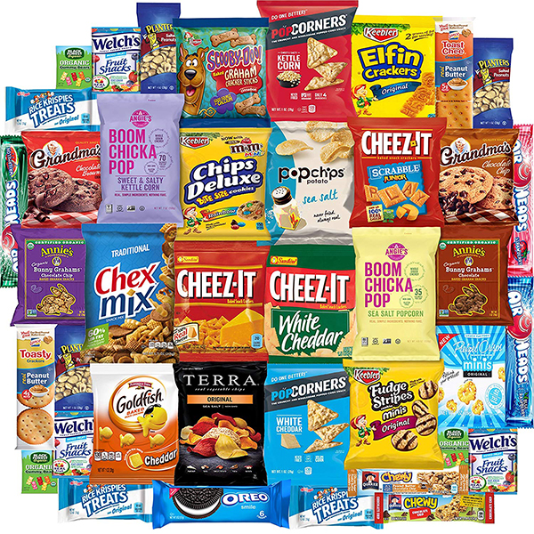 Snack Chest Care Package