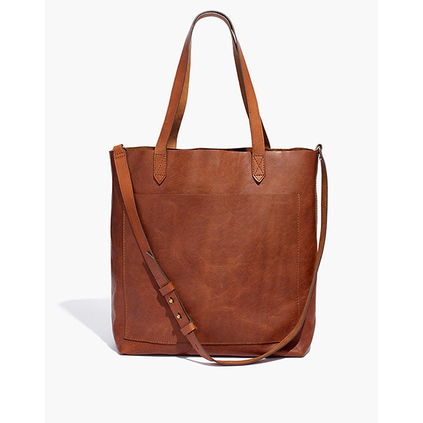 Madewell Monogrammed Transport Tote