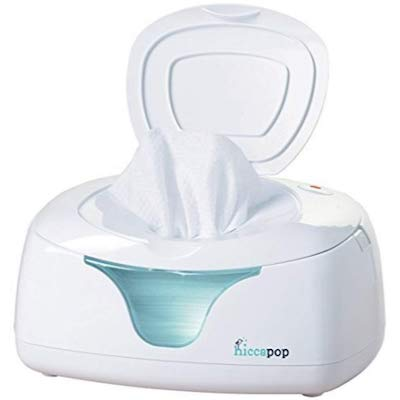 hiccapop Wipe Warmer and Baby Wet Wipes Dispenser with Changing Light