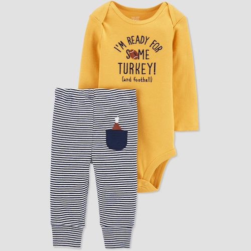 Just One You Made by Carter's Baby Boys' 2-piece Ready For Turkey Set