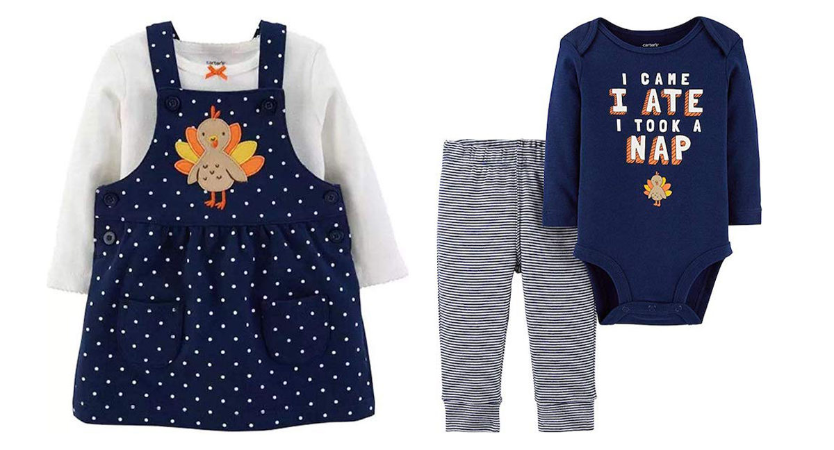 The Cutest Thanksgiving Outfits for Babies and Kids