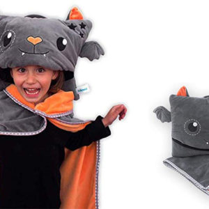 Help Save the Amazon With This Limited-Edition Halloween-Themed Pillowie Kids' Bat Travel Pillow and Blanket Set