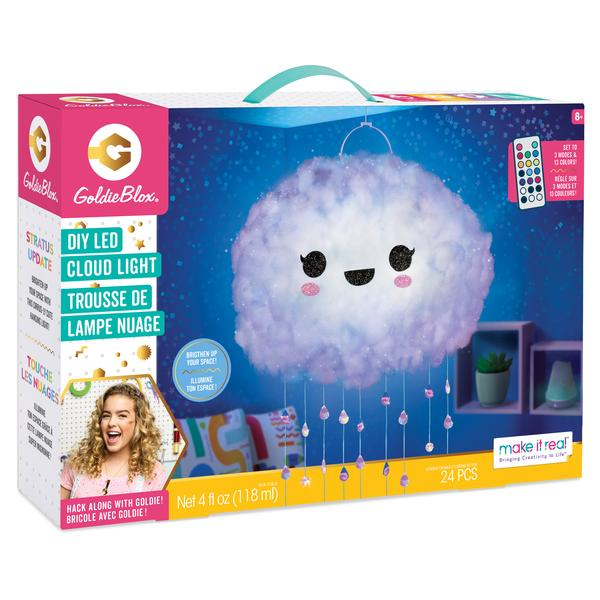 GoldieBlox DIY LED Cloud Light