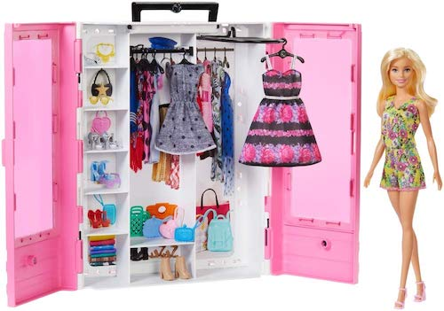 Barbie Fashionistas Ultimate Closet Doll and Accessory Collection