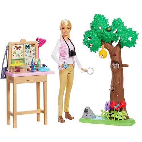 Barbie National Geographic Entomologist Doll and Playset