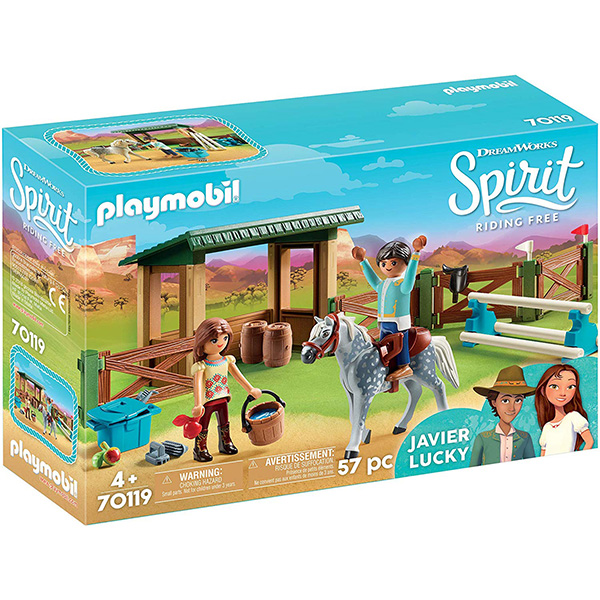 Playmobil Spirit Riding Arena with Lucky and Javier