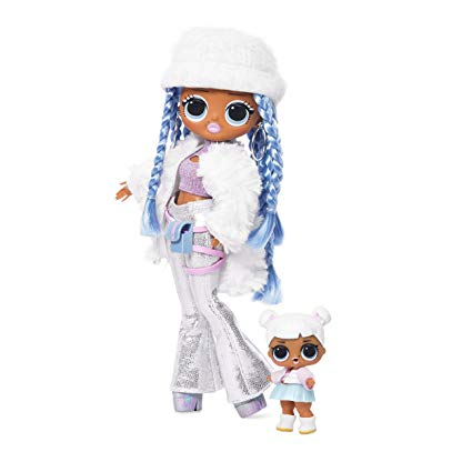 L.O.L. Surprise! O.M.G. Winter Disco Snowlicious Fashion Doll & Sister Playset