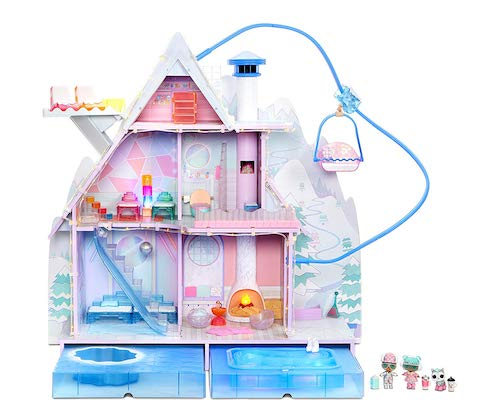 L.O.L. Surprise! Winter Disco Chalet Dollhouse with 95+ Surprises and Exclusive Family