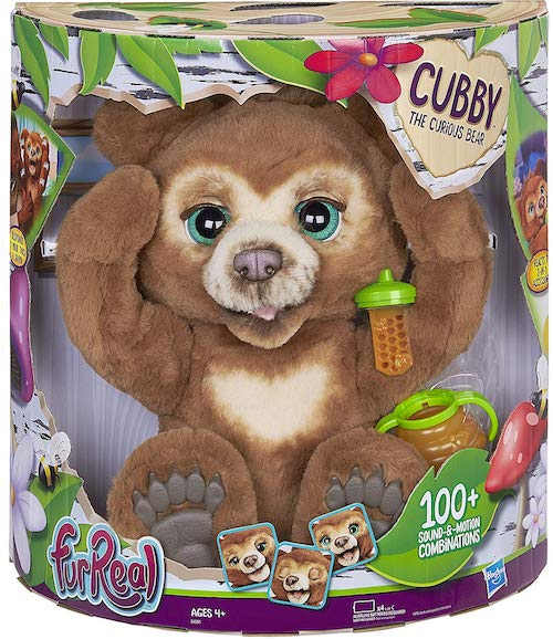 FurReal Cubby the Curious Interactive Bear