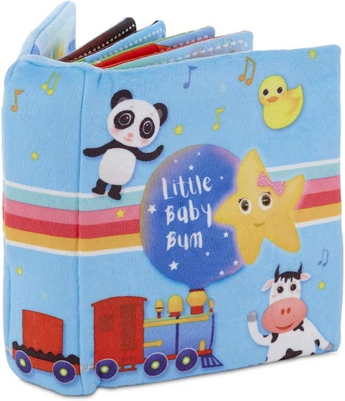 Little Baby Bum Singing Storybook Official Nursery Rhyme Song Soft Book by Little Tikes