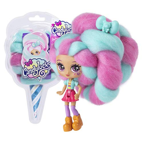 Candylocks Blind Box Full Case Dolls with Scented Cotton Candy Hair