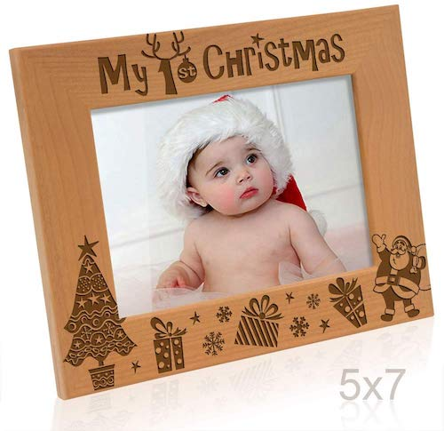 Kate Posh My 1st Christmas Picture Frame