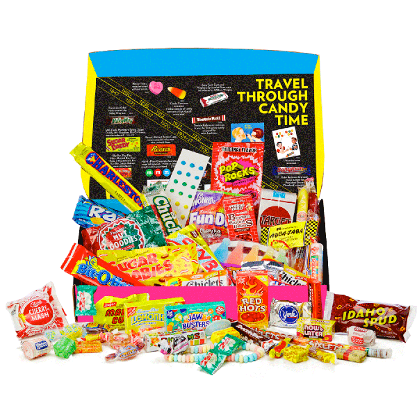 IT'SUGAR Timeless Large Retro Candy Box