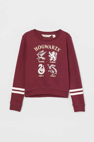H&M Harry Potter Printed Sweatshirt