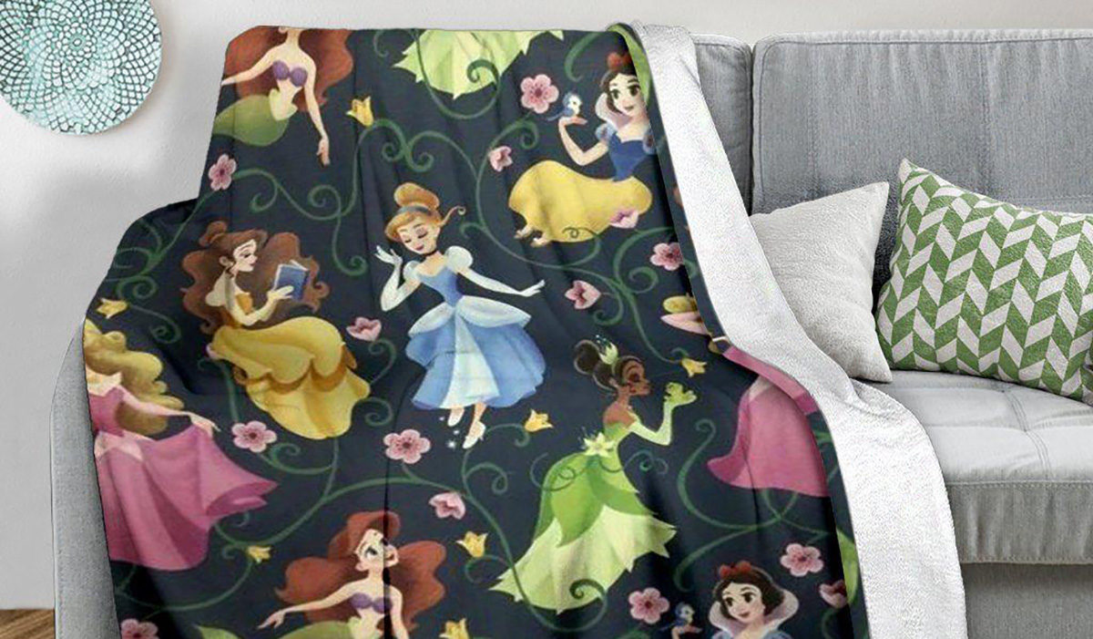The Best Disney Princess Blankets for Your Little Princess