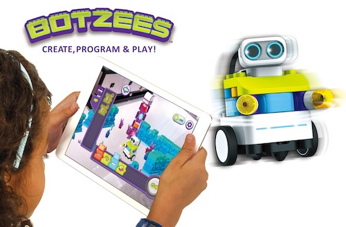 PAI TECHNOLOGY Botzees Augmented Reality Robotic Building and Coding Kit