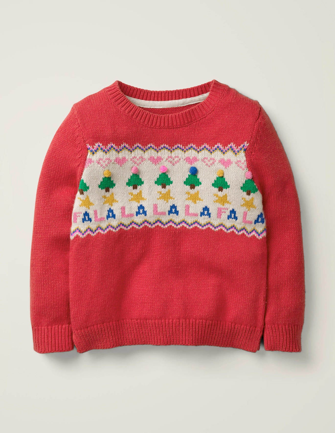 Mini Boden Cozy Christmas Day Jumper