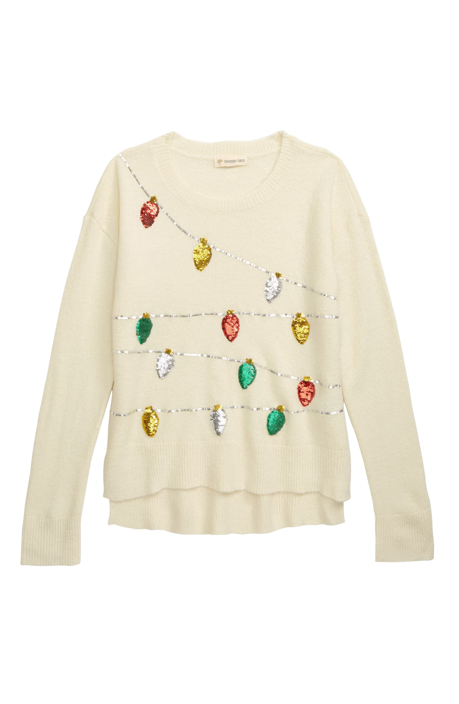 Tucker + Tate Holiday Sequin Embellished Sweater