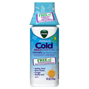 Vicks Children's Cough & Congestion Is the Answer To Your Family's Flu