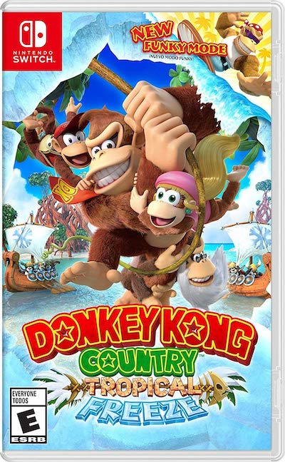 Nintendo Switch Donkey Kong Country: Tropical Freeze