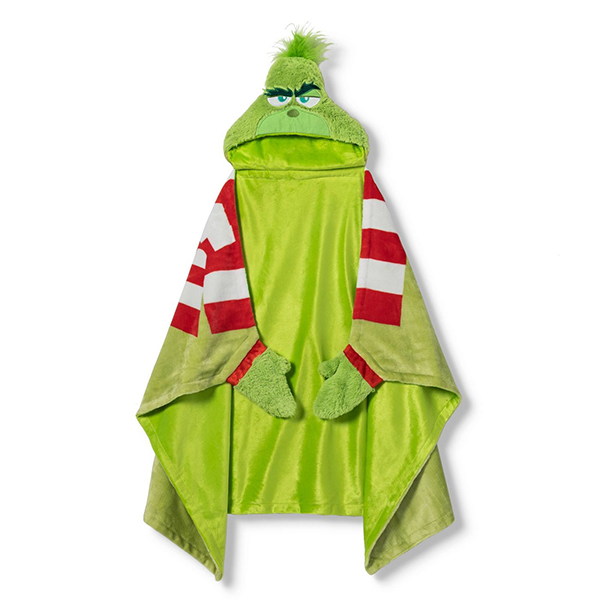 Dr. Seuss' The Grinch Toddler Hooded Towel