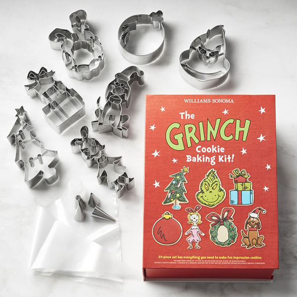 Williams-Sonoma Grinch Christmas Cookie Kit