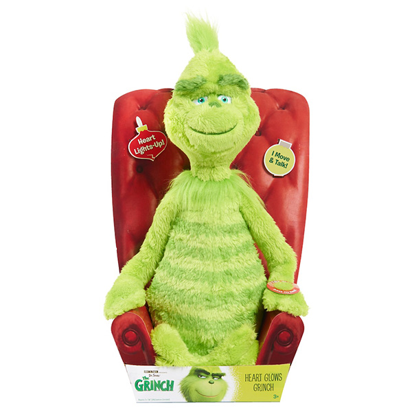 Just Play Grinch Feature Plush Toy