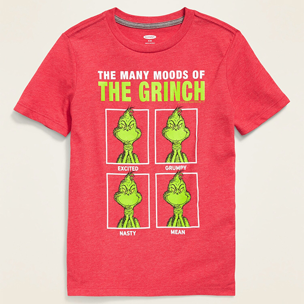 Old Navy The Many Moods of the Grinch Tee
